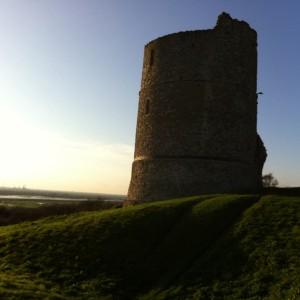 Xmas Day Hadleigh Castle