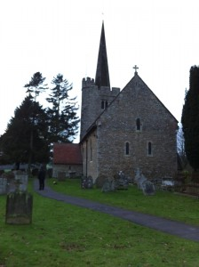 St Margaret's near Teston (day after Boxing Day)